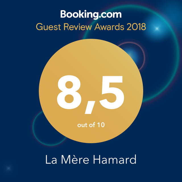 Guest Review Award 2018 - La Mère Hamard